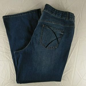 Lane Bryant Tighter Tummy Technology jeans 24R